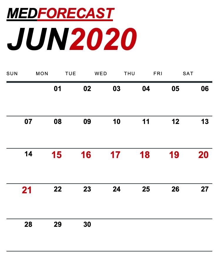 Medical News Forecast for June 15-21