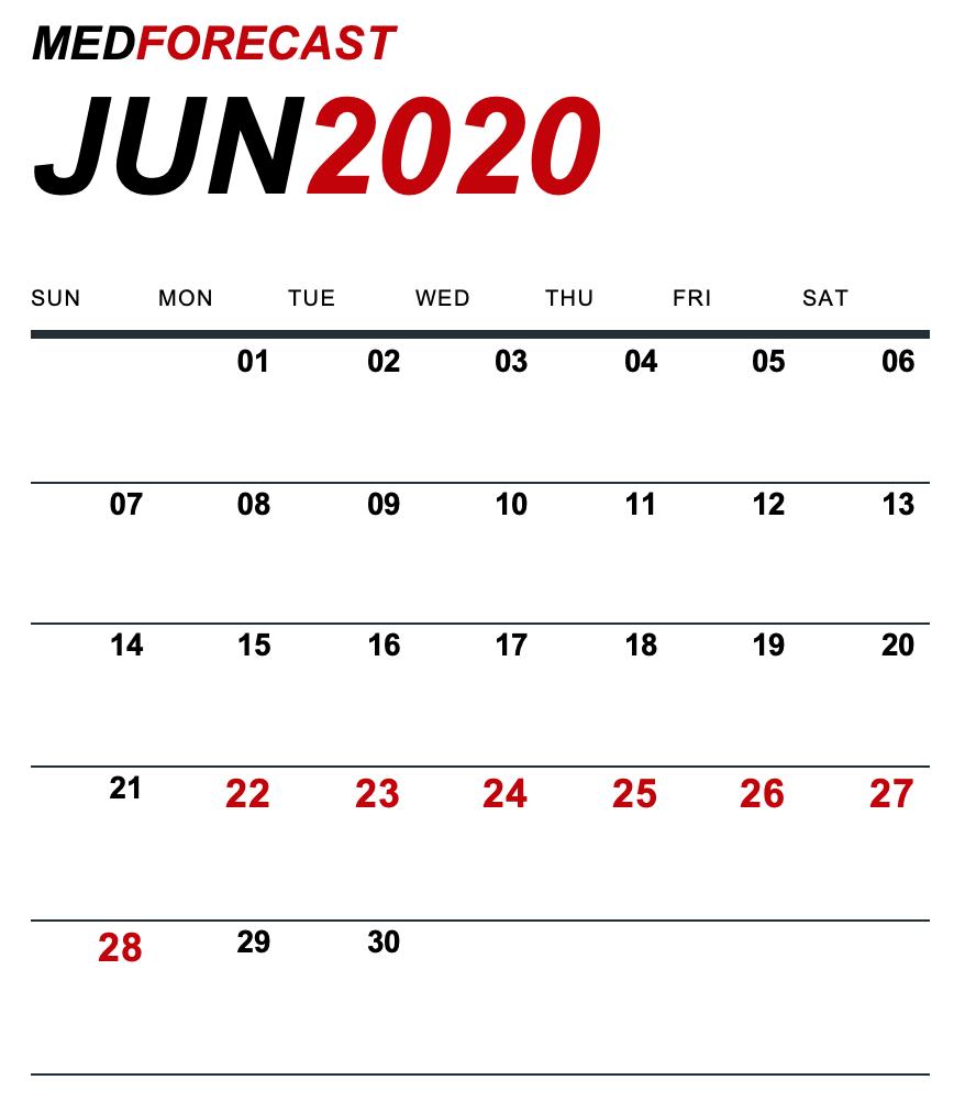 Medical News Forecast for June 22-28