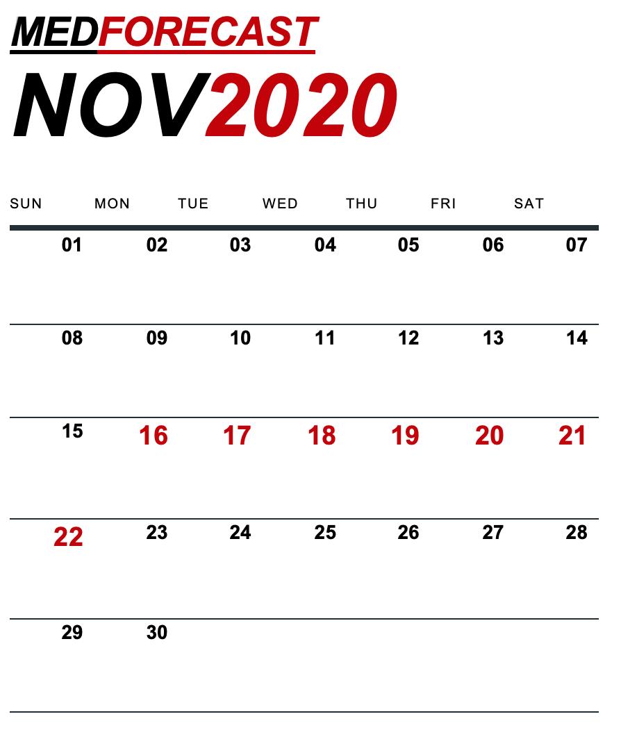 Medical News Forecast for November 16-22