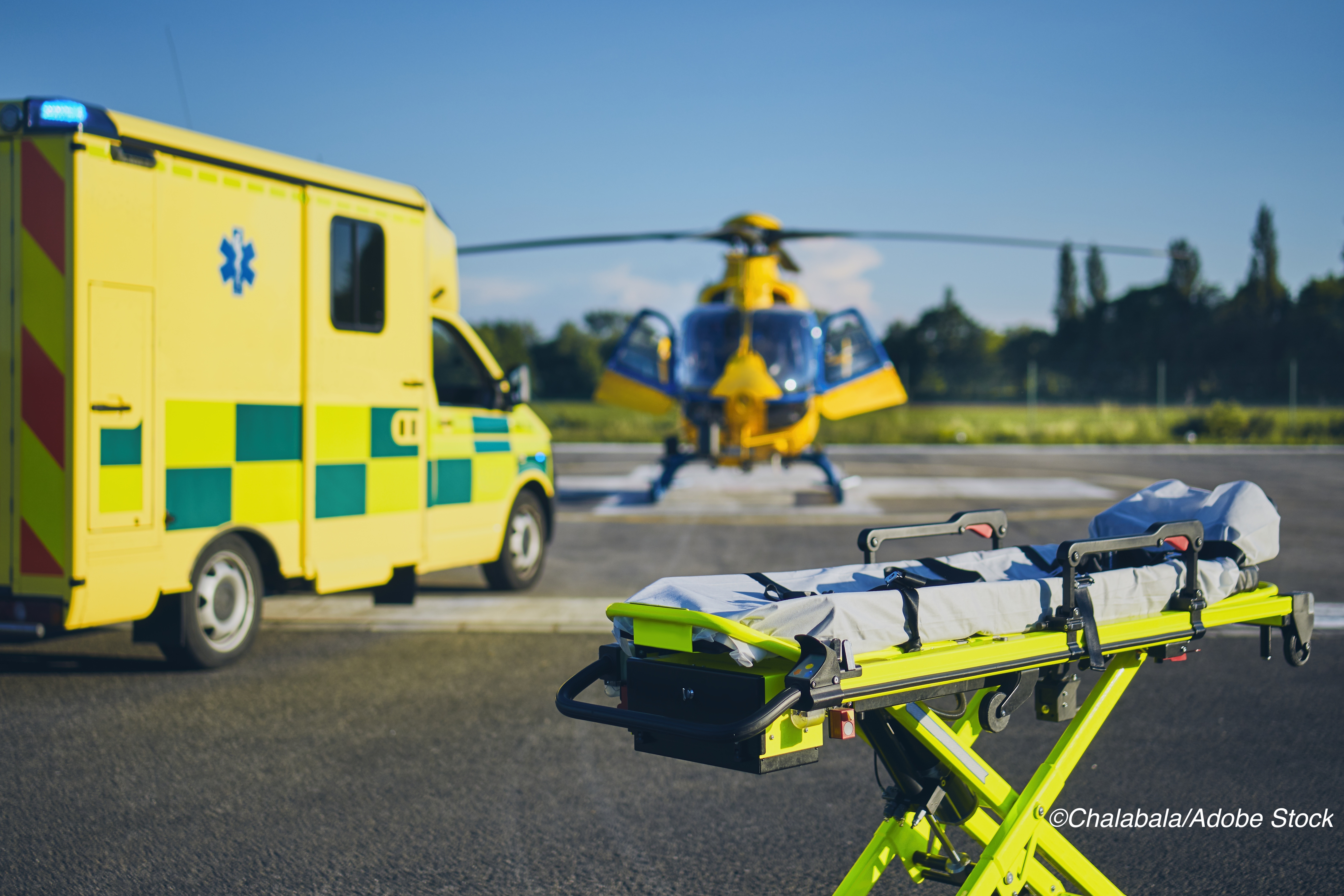 No One-Year Mortality Benefit for Helicopter vs Ground EMS