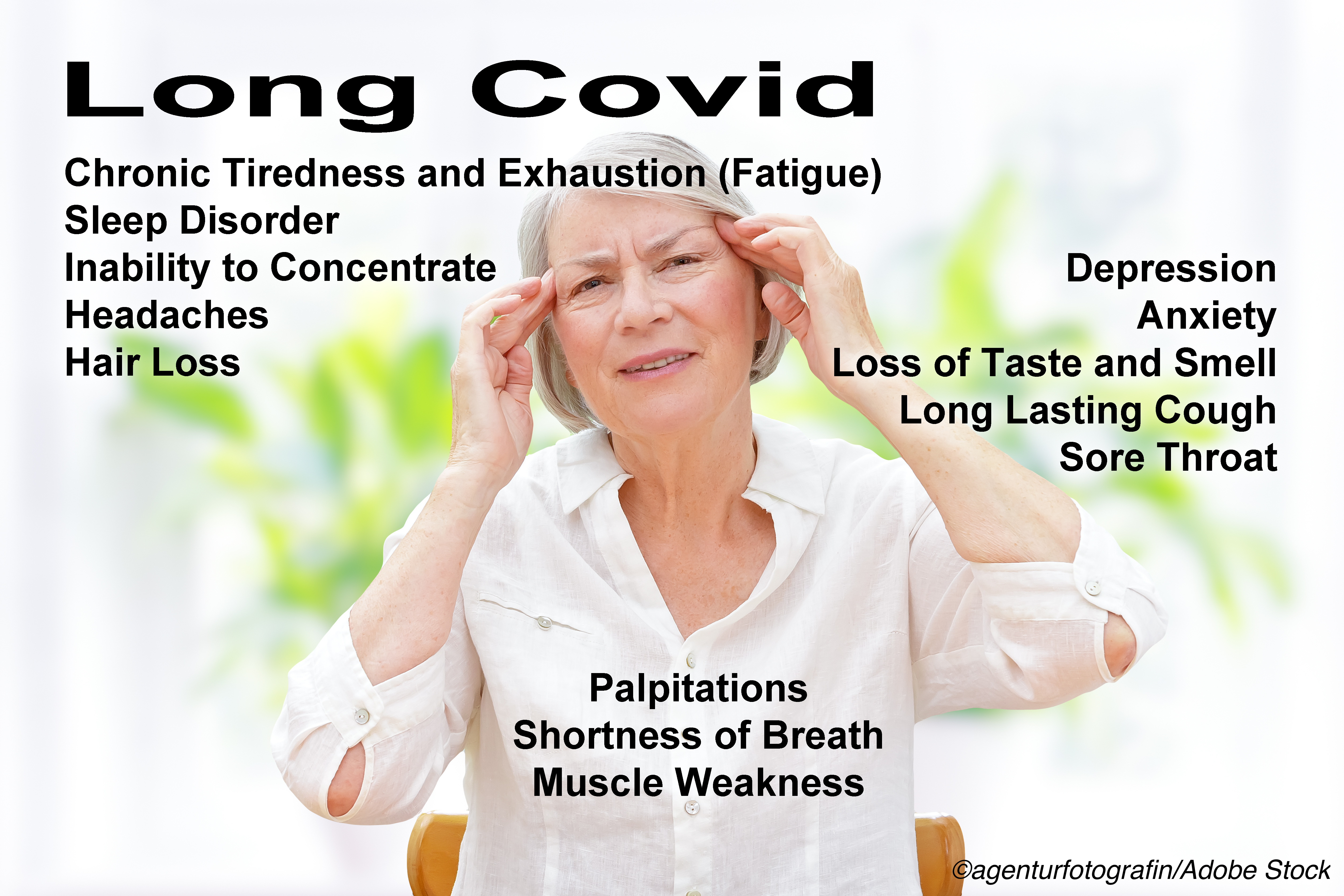 Covid Long Hauler Symptoms Reported by as Many as 1 in 7
